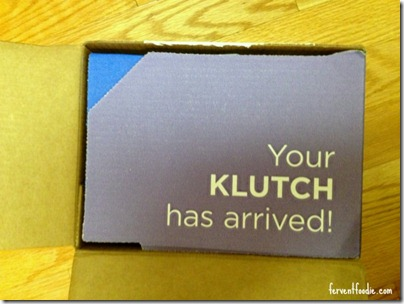 your klutch has arrived