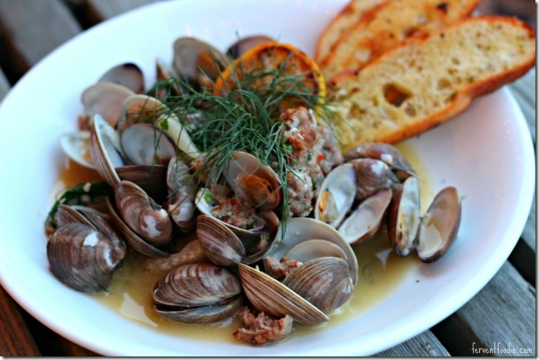 Napa on Providence - Steamed Clams