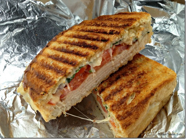 Common Market - hot mama panini with turkey