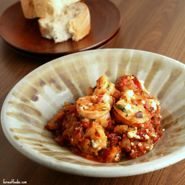 Shrimp and Fire Roasted Tomatoes