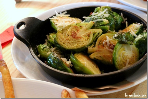 Block & Grinder - brussels sprouts