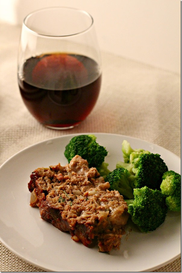 Marsala Glazed Meatloaf - 5