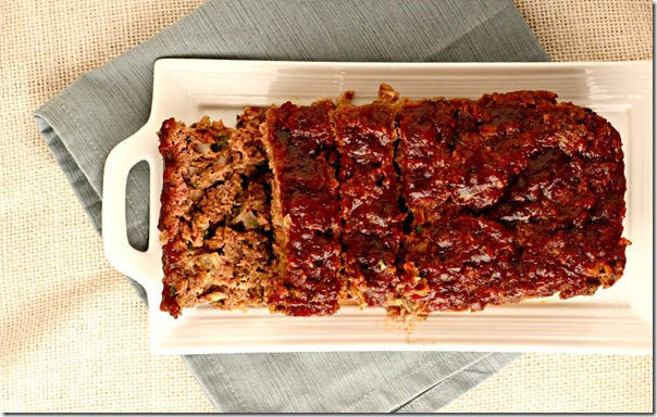 Marsala Glazed Meatloaf