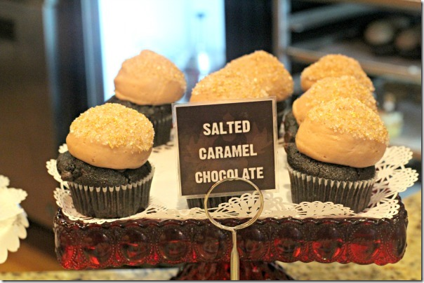Greenville Chocolate Moose - Salted Caramel Cupcakes