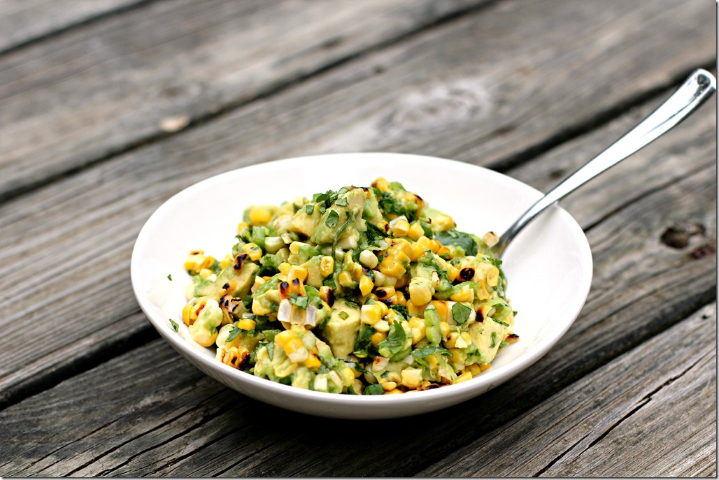 Grilled Corn and Avocado Salsa